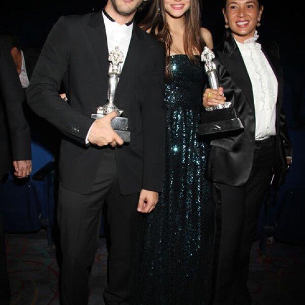 Sebastian Zurita, Macarena Achaga, Yolanda Andrade.