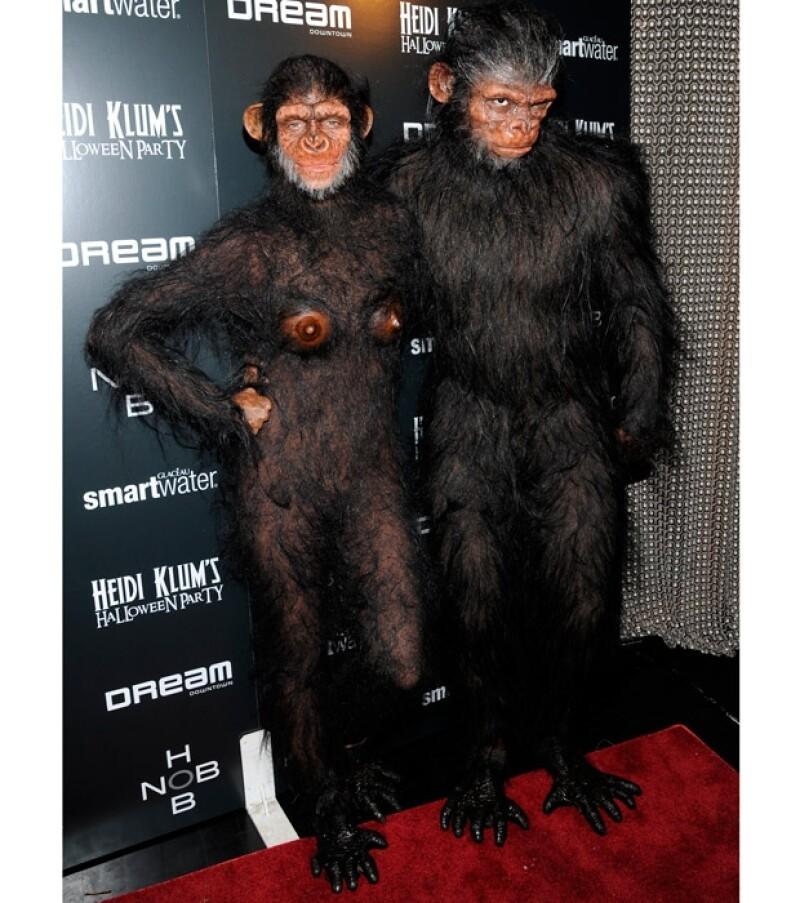 Las fiestas de Halloween de Heidi Klum son muy famosas en Hollywood.
