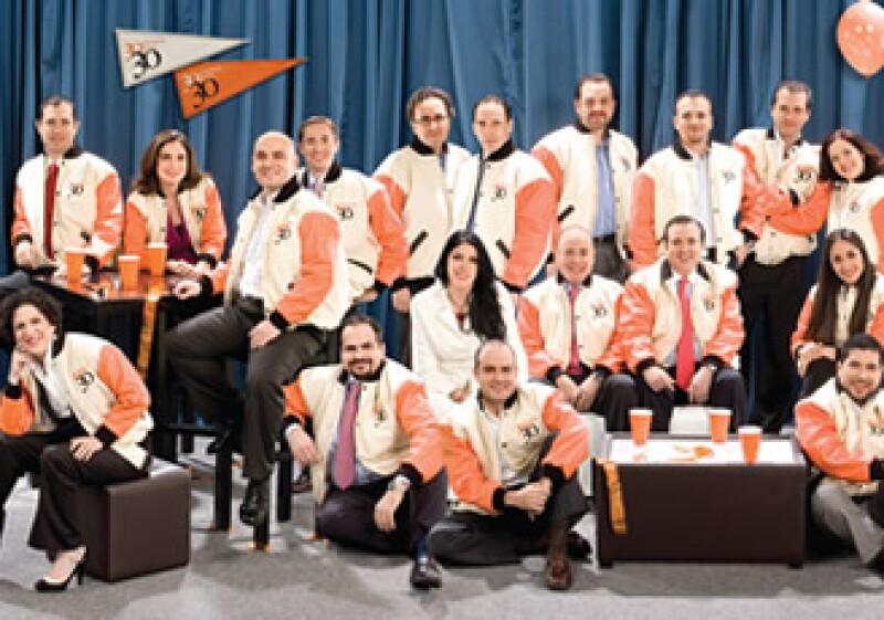 Una parte de los treintañeros destacados en 2010 por la revista Expansión. (Foto: Duilio Rodríguez)
