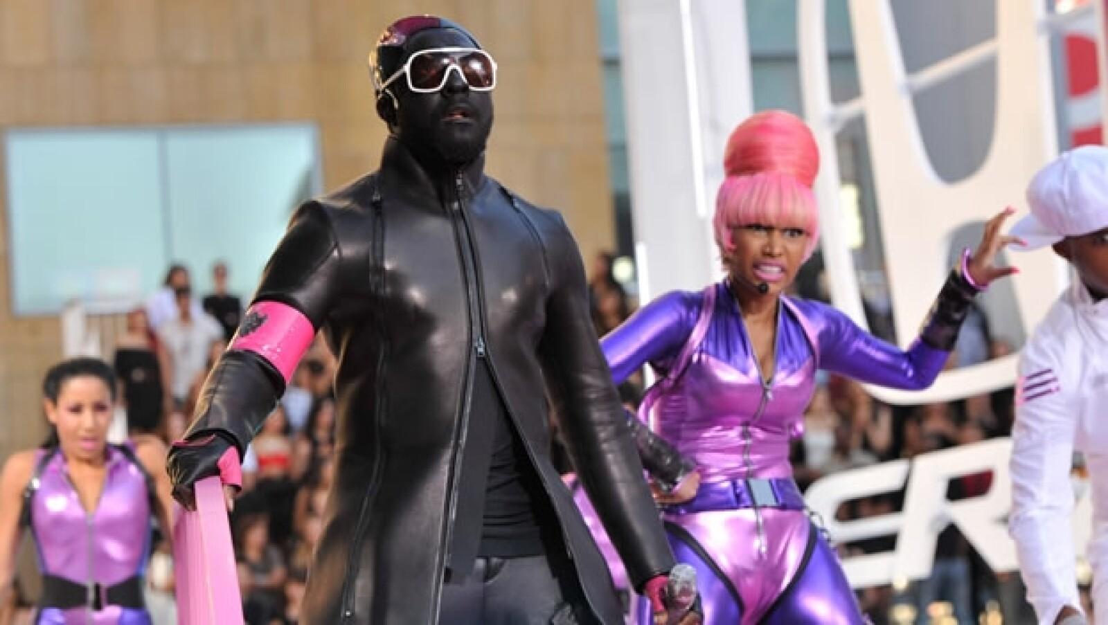 vestidos exóticos MTV VMA 8