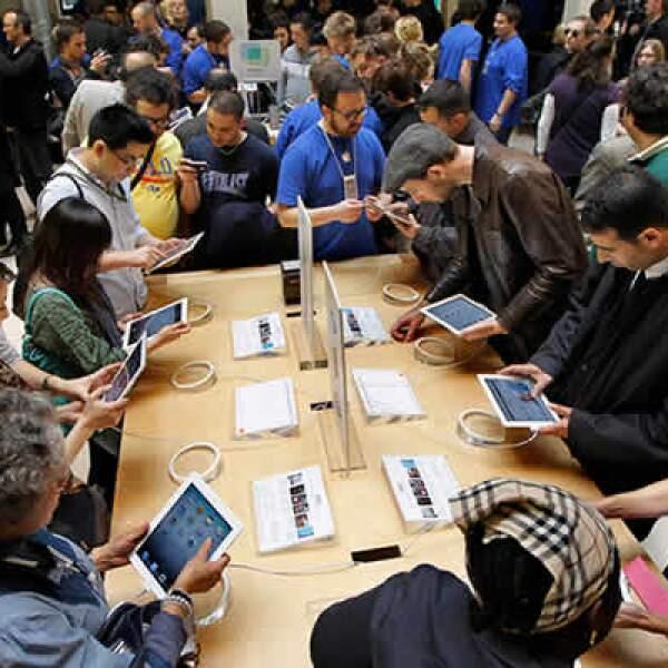 La tienda de Apple en París es una de las más representativas de la tecnológica en Europa.