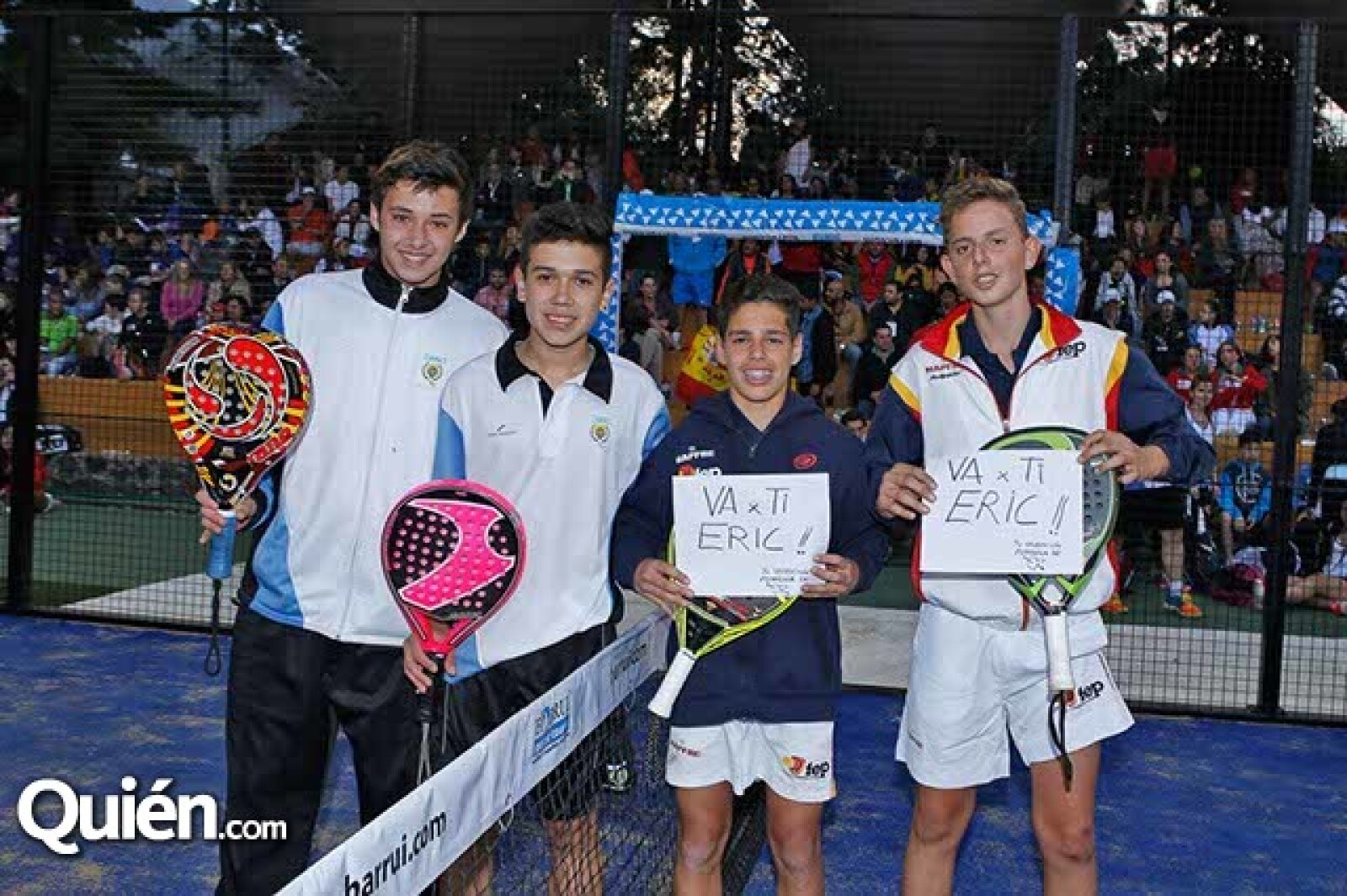 Felipe Calleja,Luciano Puppo,Alejandro Ramillete y Miguel Yanguas