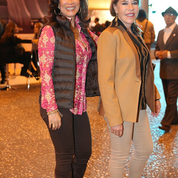 Maribel Salgado y Lourdes Guerra