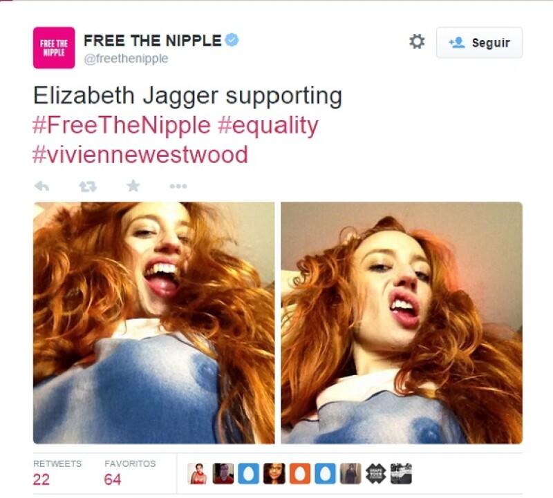 El sitio oficial de Free The Nipple reconoce las labores y contribuciones de las famosas.