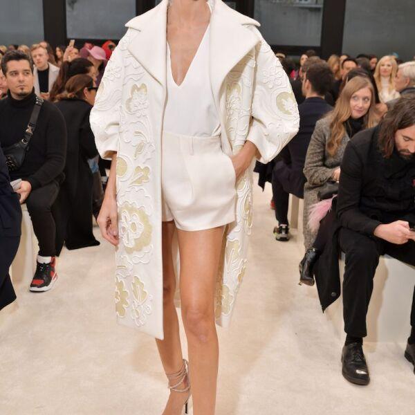 Valentino show, Front Row, Fall Winter 2020, Paris Fashion Week, France - 01 Mar 2020