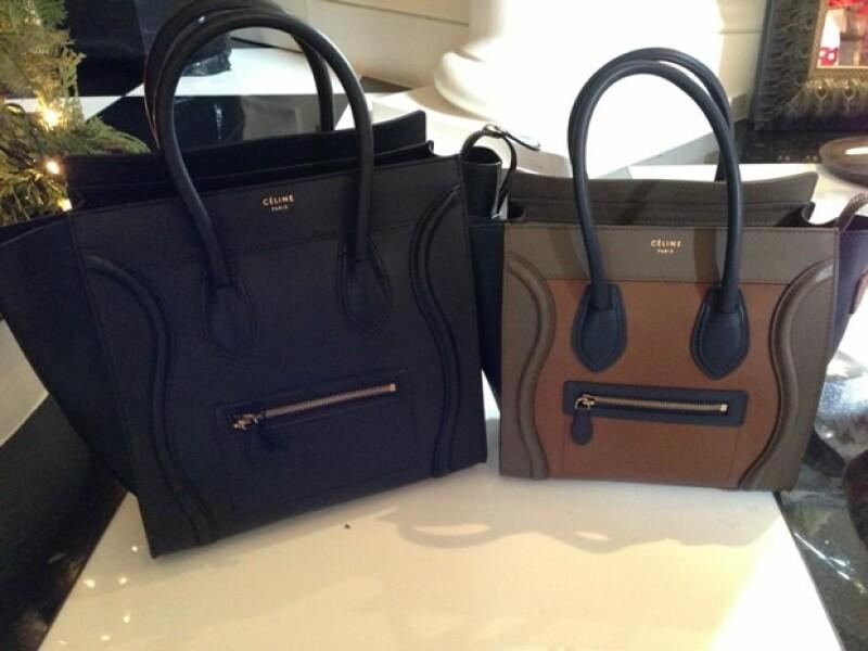 Estas son las dos bolsas Céline de Kylie Jenner.