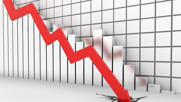 caída económica