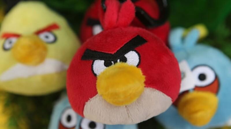 muñecos de peluche de angry birds