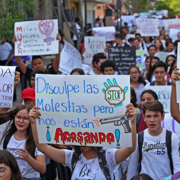 Marcha en Guadalajara 5