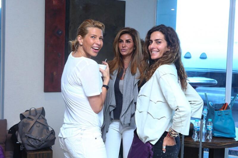 Beatriz Pasquel, Alejandra Funtanet, Paola Saad.