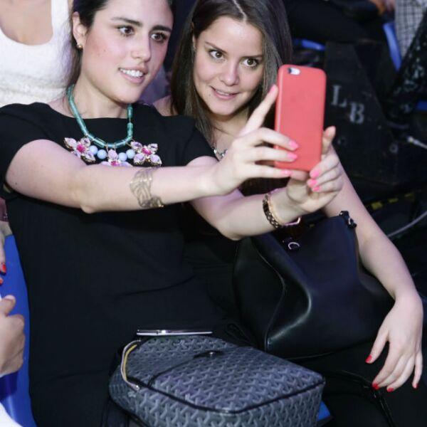 Sofía Serrano y Carla Díaz.