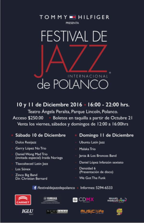 7a Edición Festival de Jazz Internacional de Polanco