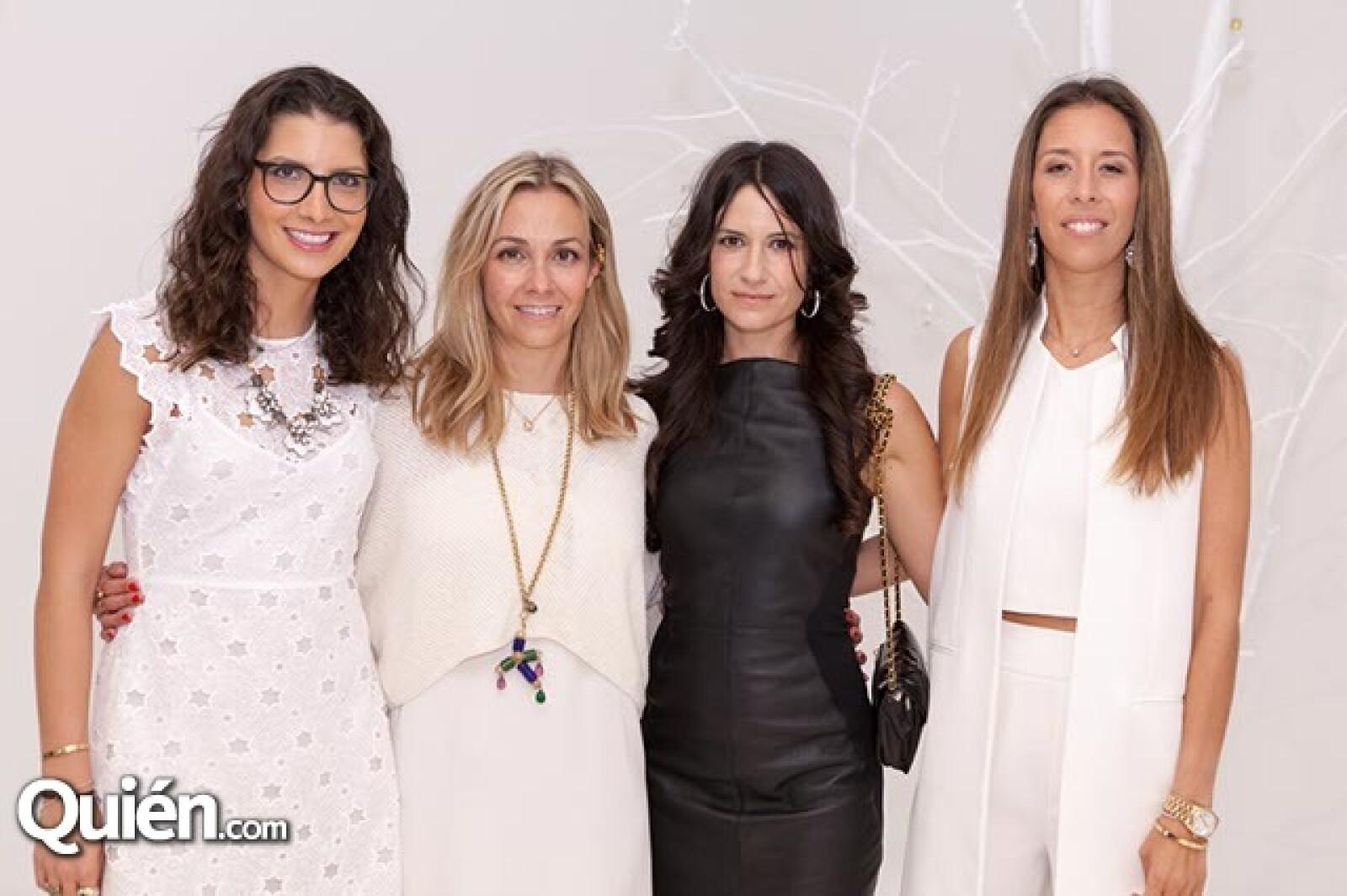 Gina Moreno,María Luisa Mendoza,Vicky García y Juana Domenzain Girault