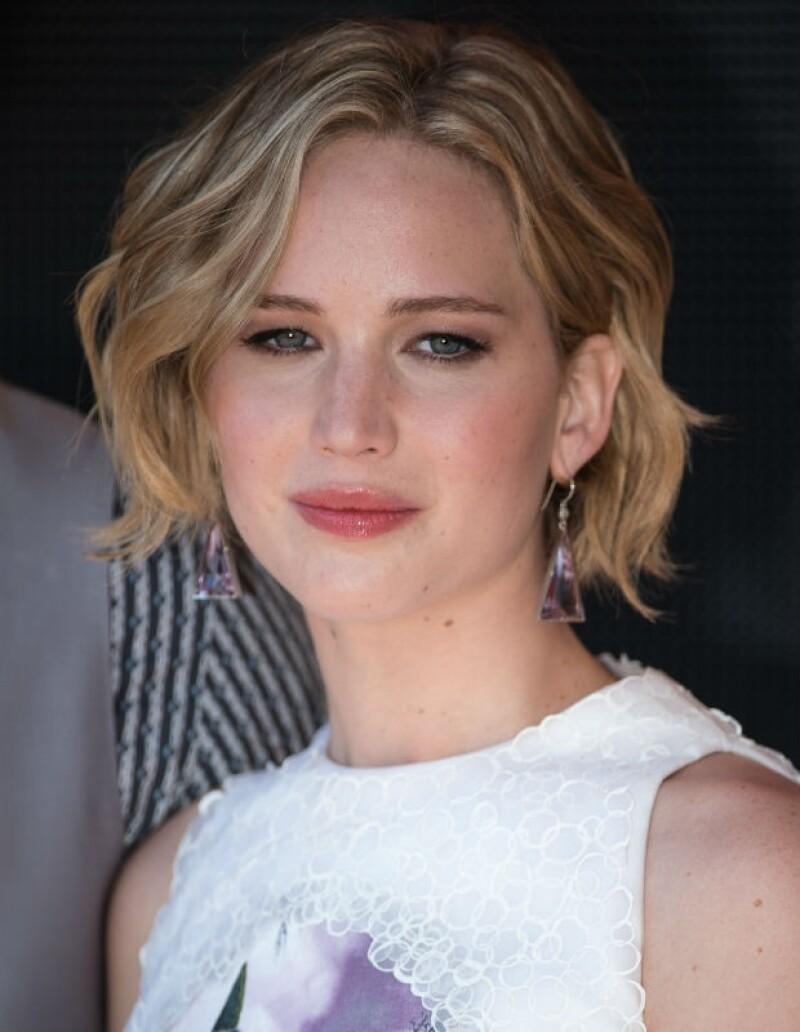 Jennifer Lawrence se ha convertido en la fan número uno de Coldplay.