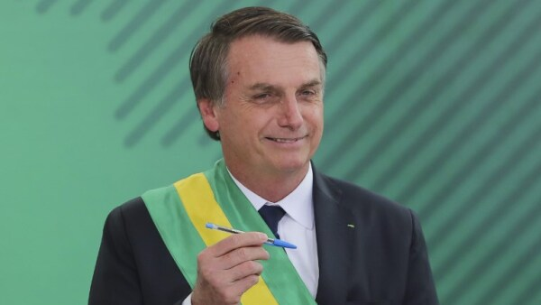 Jair Bolsonaro comienza su cuatrienio como presidente de Brasil