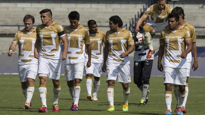 Pumas debuta con empate en el Clausura 2014