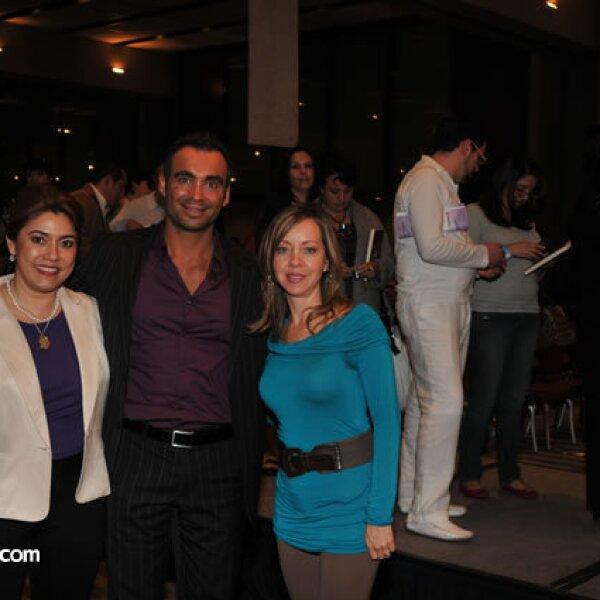 Yolanda Ley, Diego Di Marco y Marco Valdés