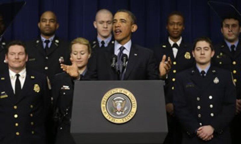 El presidente indicó que la tasa de desempleo podría aumentar de nuevo si el Congreso no actúa para evitar los recortes automáticos. (Foto: AP)
