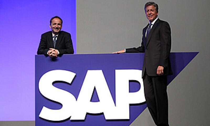 SAP es lídereado por Jim Hagemann Snabe (izquierda) y Bill McDermott. (Foto: AP)