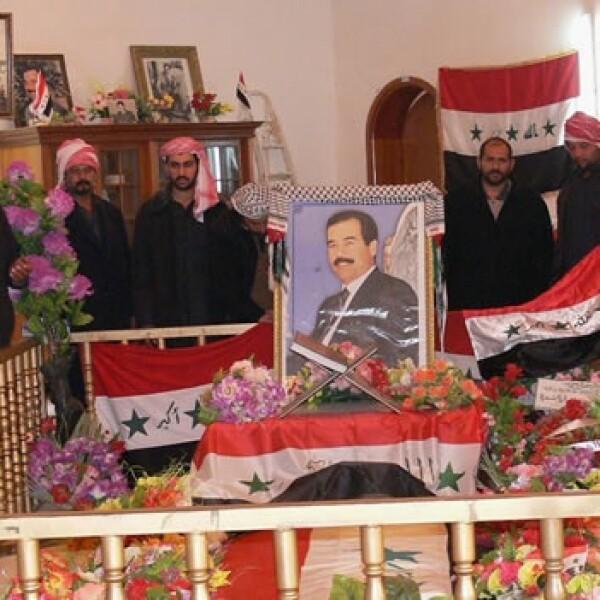 Saddam Hussein - duelo en Tikrit