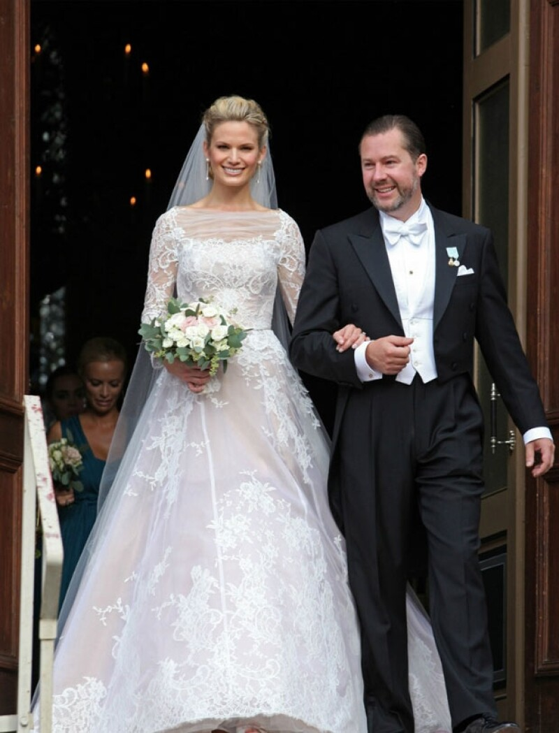 """Este sábado tres parejas se dieron el """"Sí"""": Andrea Casiraghi y Tatiana Santo Domingo de Mónaco, Gustaf Magnuson y Vicky Andren de Suecia, así como el Príncipe musulmán Rahim y Kendra Spears."""