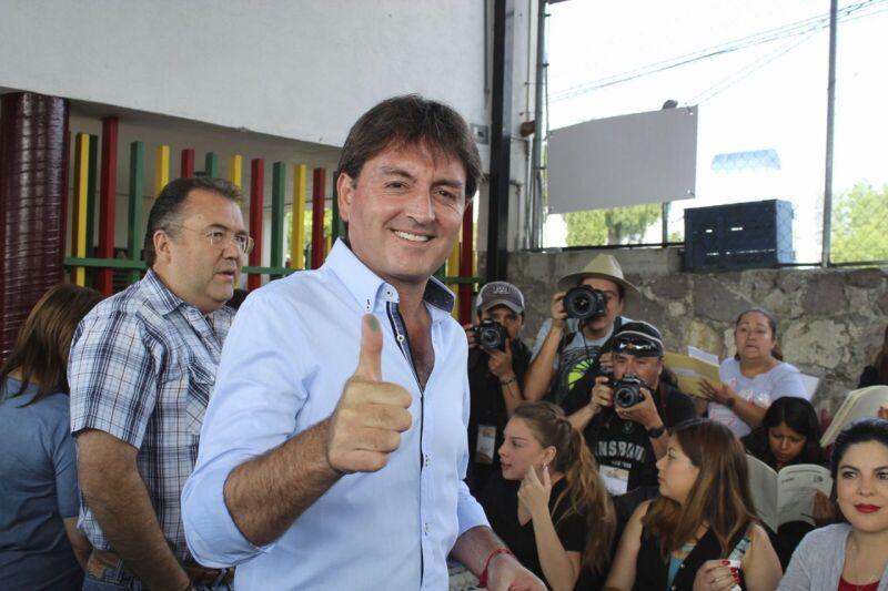 Sin saber los resultados, el panista advirtió que impugnará la elección de Hidalgo.