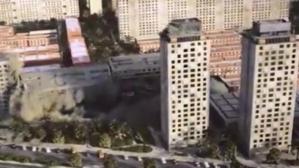 Esta película revive la destrucción del terremoto de 1985 en la Ciudad de México