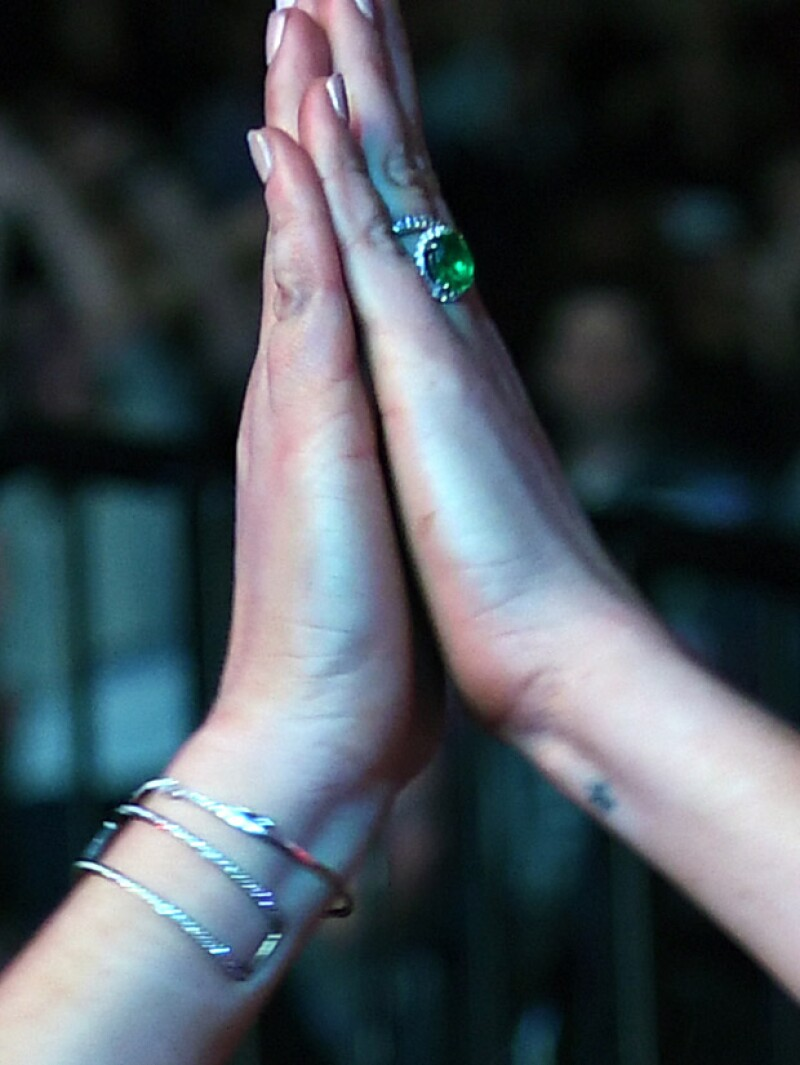 Lindsay lució un anillazo que nos puso a pensar si se trata del anillo de compromiso que recibió de Egor.
