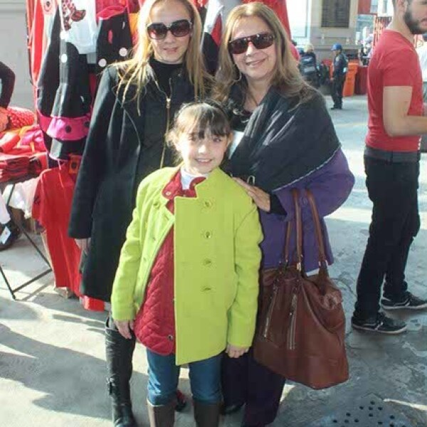 Roció Esqueda,Frida Cornejo y Lupita Morales