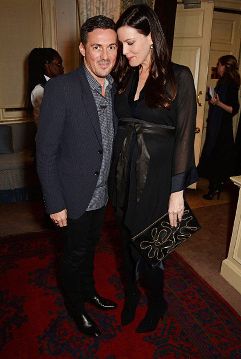 Liv tendrá a su segundo hijo con su novio, el agente de futbolistas Dave Gardner.