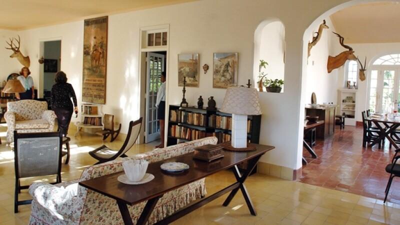 El hogar del premio Nobel cerca de La Habana, donde Hemingway escribió 'El viejo y el mar'