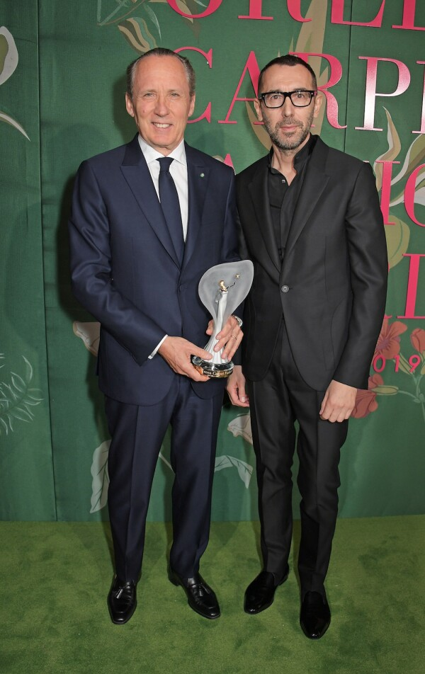 The Green Carpet Fashion Awards, Italia 2019 - Winners