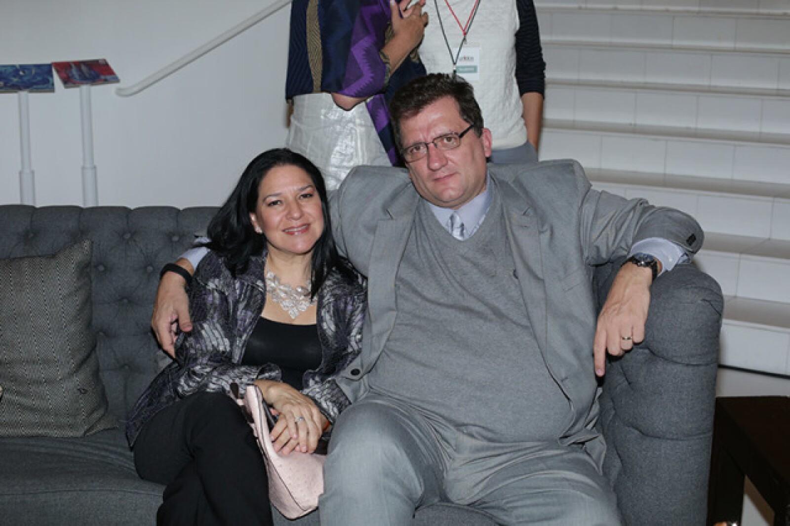 Delia Contreras y Pablo Rivero