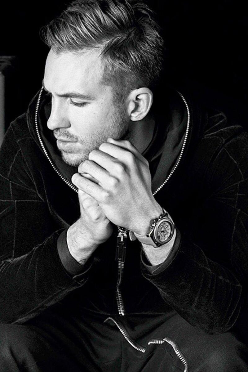 Calvin también será imagen de relojería y lentes de sol.