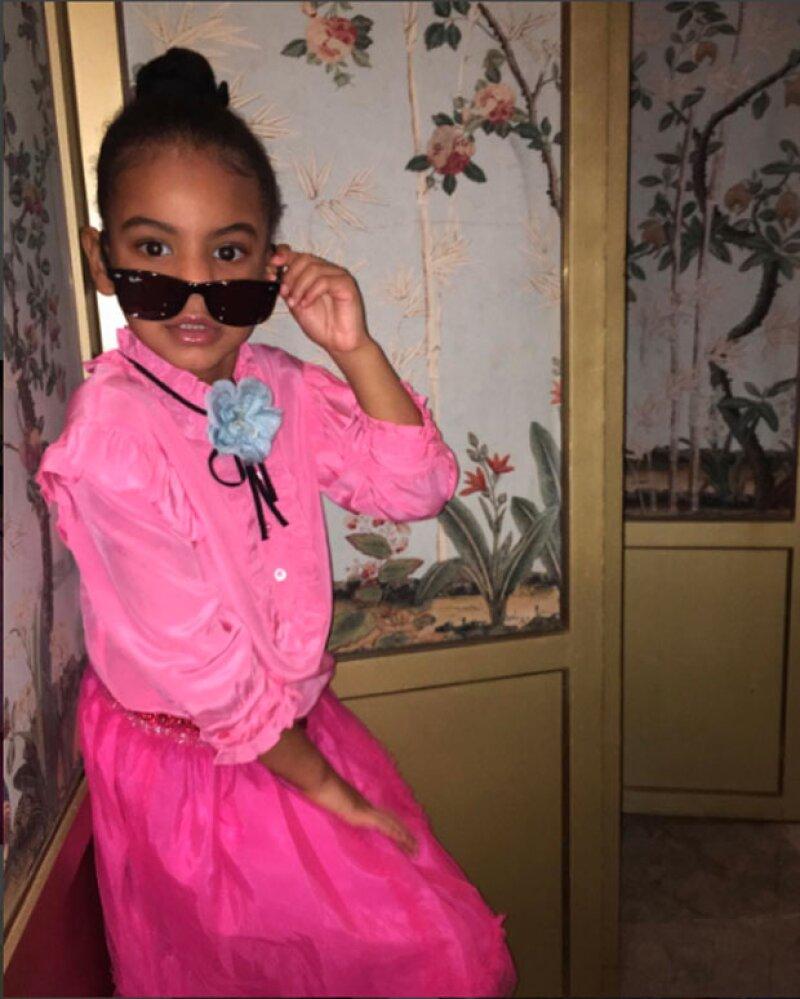 Blue Ivy fue la encargada de editar y seleccionar las fotos.