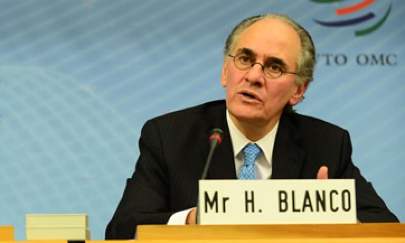El 21 de diciembre, el Gobierno mexicano postuló a Herminio Blanco a la dirección de la OMC. (Foto: tomada de weforum.org)