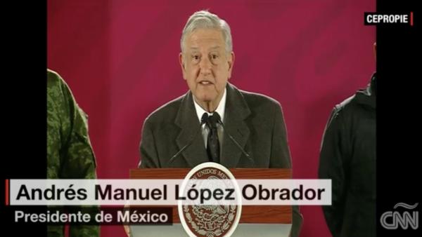 """""""Se está buscando salvar vidas"""", afirma López Obrador"""
