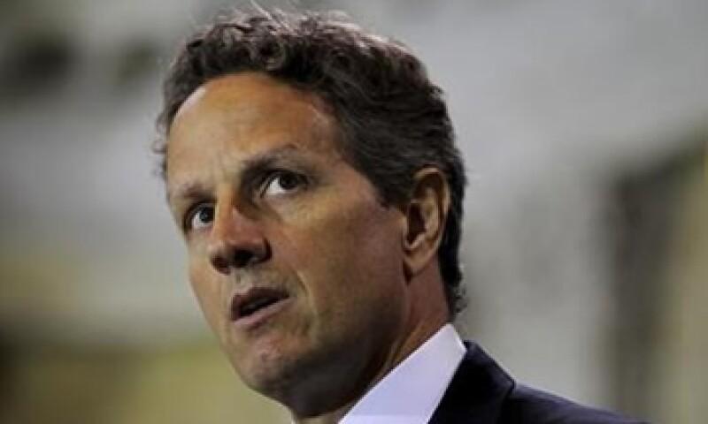 Timothy Geithner declaró que la amenaza de una moratoria en cascada, pánico bancario y riesgo catastrófico debe ser quitada de la mesa. (Foto: Reuters)