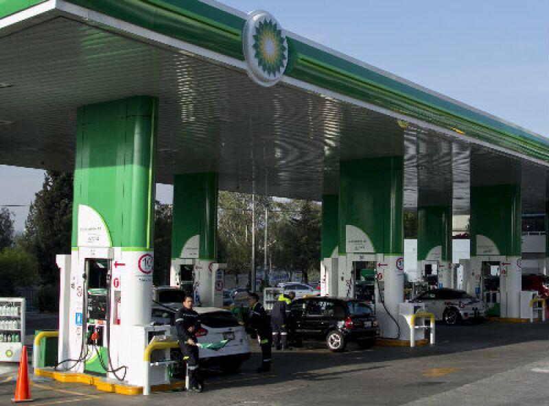 BP gasolinera en el Edomex