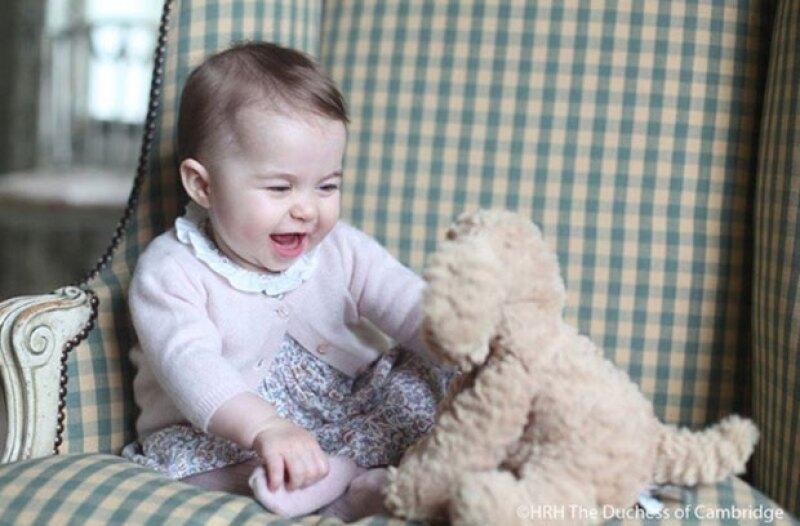 Las fotos fueron tomadas por Kate Middleton en su casa de Norfolk.