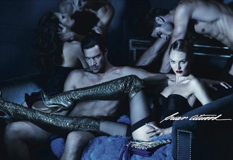 La campaña protagonizada por la modelo sudafricana, quien está en nuestro país como parte del Fashion Fest, fue censurada por su alto contenido erótico.
