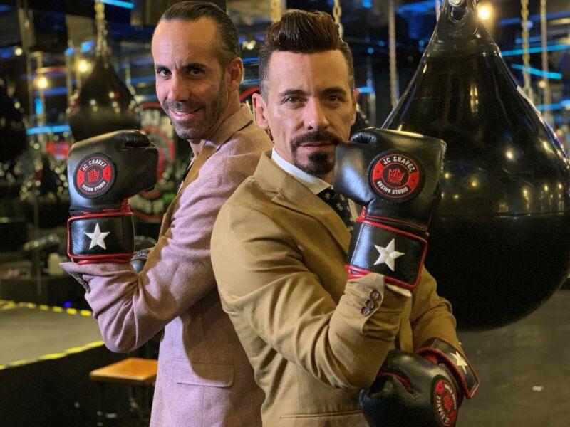 Elías Dalí y René Ortiz