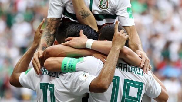 México gana por dos goles a la selección de Corea