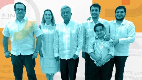 La familia de Andrés Manuel López Obrador lo acompaña en su arribo a la Presidencia de México, ¿quién es cada uno? Aquí te contamos.