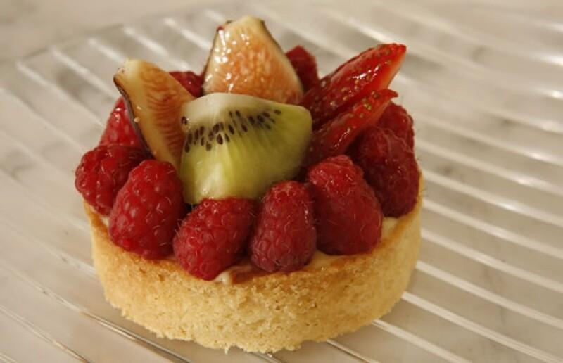 La reconocida chef del restaurante Jaso, preparó una deliciosa tarta navideña para compartir en estas fechas.