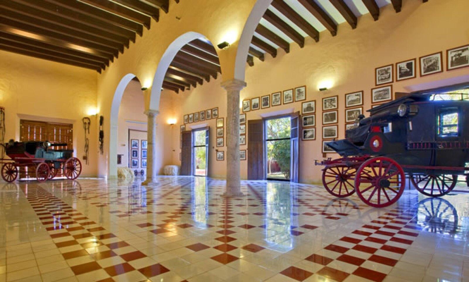 Las 28 habitaciones y suites se encuentran en los edificios originales, que han sido renovados por completo.