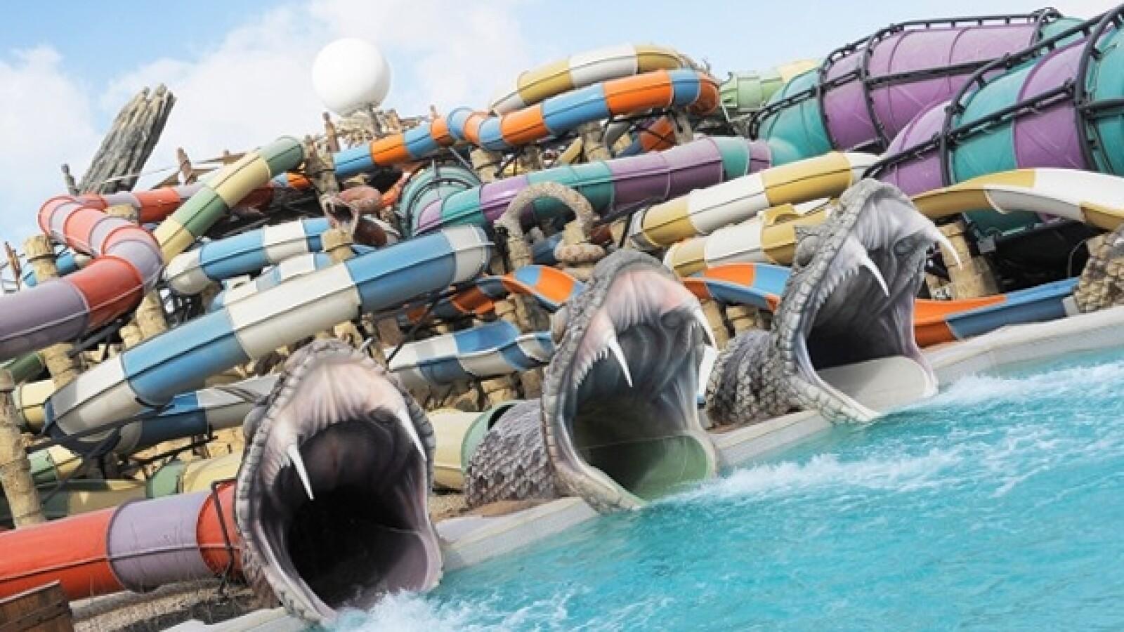 parque acuatico Yas Waterworld