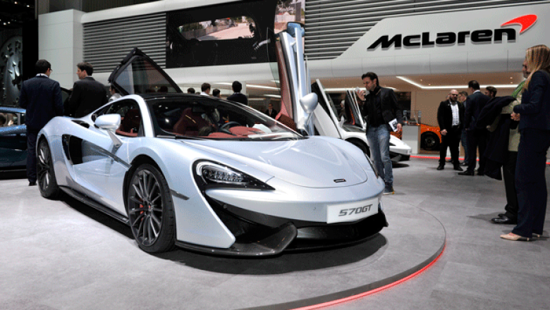 5. McLaren 570 GT. Es nueva versión con un mayor nivel de equipamiento sobre todo en confort. (580 hp)