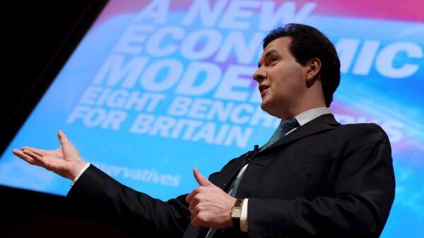 El ministro de Finanzas británico.