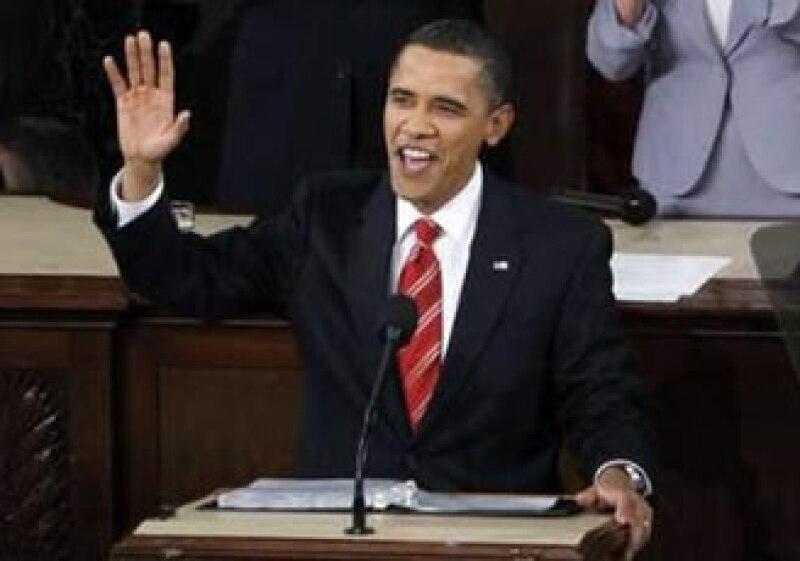 El presidente Barack Obama durante su discurso en el Congreso. (Foto: Reuters)